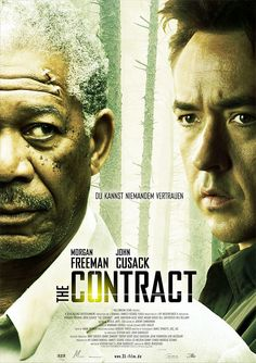 The Contract (2006) with John Cusack & Morgan Freeman. Script by the late Stephen Katz.