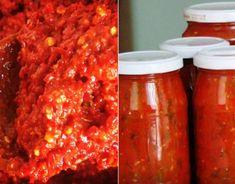 Domáca čalamáda - Receptik.sk Meatloaf, Conservation, Carrots, Jar, Vegetables, Food, Green, Home Canning, Salads