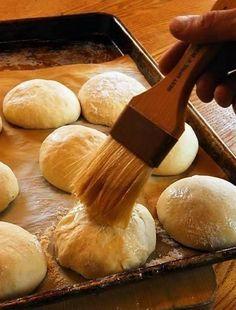 The Refrigerator Rise Trick on Crazy-Busy Thanksgiving Morning: Fresh Rolls (Kürbiskernbrot) from the German Alps Butter Bakery, Fresh Bread, Artisan Bread, Bread Rolls, Dinner Rolls, How To Make Bread, Bread Recipes, Yummy Treats, Thanksgiving