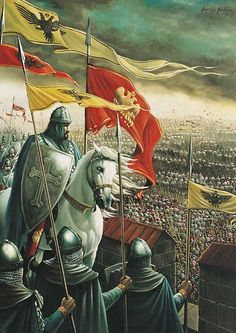 A brief history on the Byzantine Empire Medieval Knight, Medieval Armor, Medieval Fantasy, Crusader Knight, Christian Warrior, Plantagenet, Knight In Shining Armor, Knights Templar, Military Art