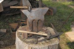 An Anvil for blacksmithing
