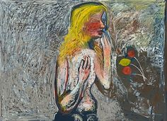 CHARLES BLACKMAN (born 1928)  Golden Eve 1971  oil on board  signed upper right: BLACKMAN  135 x 181cm