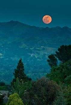 Super moon - California