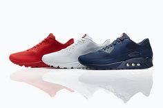 Nike Air Max 90 Hyperfuse 'Independence Day' Sneakers —