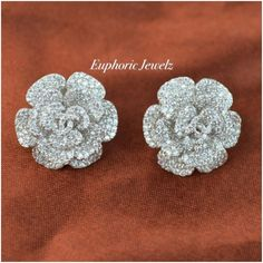 c65e4313d Sterling Florals, with a pave crystal design for a brilliant sparkle.  DETAILS &