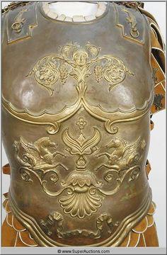 Roman Armor Torso Shield {Ben Hur} Medieval Armor, Medieval Fantasy, Sca Armor, Roman Armor, Leather Armor, Fantasy Armor, Ancient Rome, Roman Empire, Romans