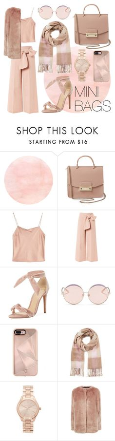"""Elegance"" by jess09xo ❤ liked on Polyvore featuring Furla, Alice + Olivia, Topshop, Alexandre Birman, N°21, Rebecca Minkoff, Miss Selfridge, Michael Kors and Pinko"