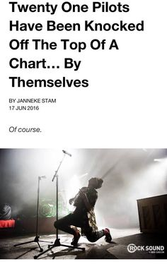 Ofc. Heathens ride and stressed out dominated the song chart and they won artist of the year and album of the year. They got their revenge when Josh didn't win best drummer of the year Hahaha