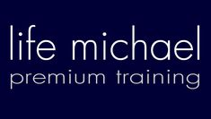 premium training for software developers. courses, seminars and webinars. both public and private. more info at www.lifemichael.com
