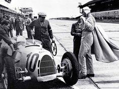 Auto Union (later to become Audi) renwagen 10º Gran Premio de Alemania (1937)