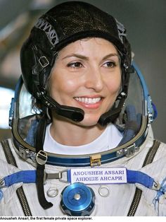 Today we are pleased to announce Anousheh Ansari as the winner of our 2015 Space Pioneer Award. Ms. Ansari is the first female private space explorer, the first Iranian Muslim woman in space, and the first human to blog from space.