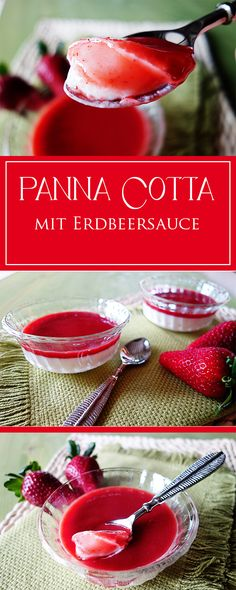 Panna Cotta - supereinfach, cremig, lecker & glutenfrei - das perfekte Dessert-Rezept, um deine Gäste zu verwöhnen ❤️🍨😋 | cucina-con-amore.de