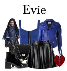 """""""Evie"""" by megan-vanwinkle ❤ liked on Polyvore featuring Yves Saint Laurent, Disney, WearAll and Boohoo"""