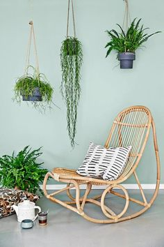 Decorar la primavera con plantas en el interior de las casa