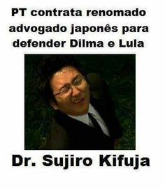 Lula  9 dedos e Dilmalandra
