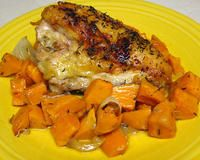 Chipotle Honey Chicken Tenders and Sweet Potatoes   American Nutrition Association