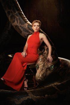 Scarlett Johansson in The Jungle Book (2016)