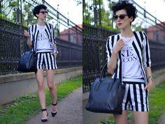 Zalando Bag, Sheinside Suit, Zero Uv Sunglasses, Zara Shoes