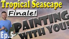 In this episode we finish the final details in the Tropical Seascape painting! If you missed the previous episodes, you can watch them on YouTube. Also, be sure to vote for the subject of the next Interactive Video! You do not need an account to vote, each vote is counted and you get to be part of an exciting painting process! To vote, please visit; www.paintwithkevin.com