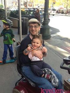 Being a Parent with Cerebral Palsy - There were plenty who didn't believe I should marry and still others who were convinced we were incompatible because Emily can walk without assistance. So I shouldn't have been surprised when, told that we were expecting a baby, our friends and family asked if we were getting another dog.