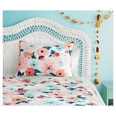Multi Floral Printed Comforter Set (Twin/Twin Extra Long) Multicolor - Xhilaration™ : Target