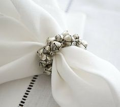 This and That Creative Blog: Jingle Bell Napkin Rings