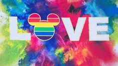 It's time to put away that little black dress, because Disney is giving you a good reason to add a little more color into your life this LGBTQ Pride Month. Shop Disney's Rainbow Mickey Collection features a mix of different super colorful tops,… Gay Aesthetic, Gay Pride, Disney Love, Lgbt, Diy And Crafts, Youth, Teen, My Love, Amazing