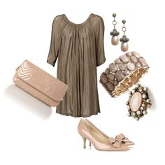 A great outfit for New Year's Eve.  This dress works great for ladies with great shoulders and legs!