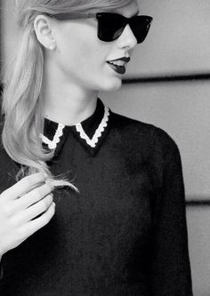 if something is black and white and taylor swift, you all got to love it
