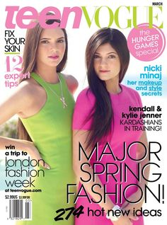 Teen Vogue:    #TeenVogue magazine began as a version of Vogue magazine for teenage girls. This US magazine focuses on fashion and celebrities and offers information about the latest entertainment and feature stories on current issues and events. #fashionmagazines #fashion #magazines #internationalfashionmagazines