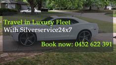Silverservice24x7 offer top of the line #fleet under premium #taxis, #luxury #taxis, and #corporate #taxis that are fully air-conditioned and facilitated with technology. For Booking call us at 0452 622 391 or for online booking Book@silverservice24x7.com