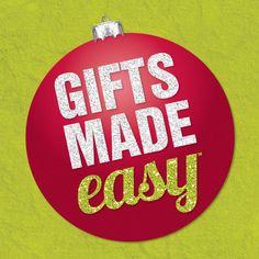 Gifts Made Easy Make It Simple, Christmas Bulbs, Gift Ideas, Holiday Decor, Board, Easy, Pretty, Gifts, Christmas Light Bulbs