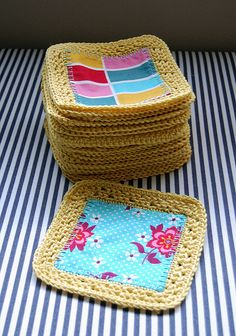 Fusion Crochet Blanket Progress by Jenelle@E&A, via Flickr