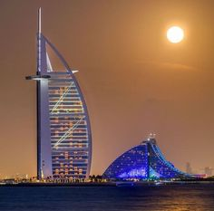 This beautiful view of Burj Al Arab is absolutely stunning