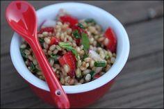 Strawberry Wheatberry Salad
