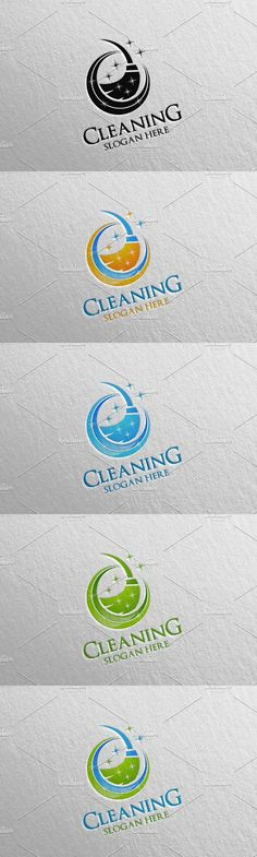 Cleaning Services Vector Logo