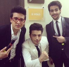 ⭐️IL VOLO⭐️ Back stage in Moscow, Russia... //51