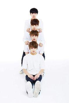 BTS Festa 2015 Family Photos.....they look like little babies awww