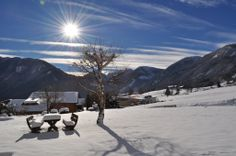 Unser Garten im Winter Snow, Outdoor, Pictures, Small Hotels, Ski Trips, Winter Vacations, Lawn And Garden, Outdoors, Outdoor Games