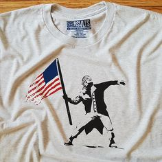 cd352c2eb Washington, Crew Neck, Banksy, Classic, Tees, T Shirt