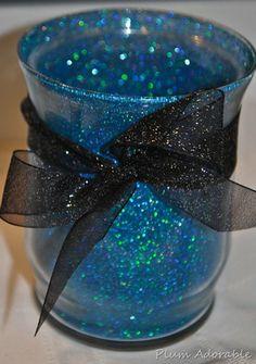 DIY Glitter Vase…