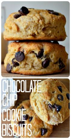 Housevegan.com: Vegan Chocolate Chip Cookie Biscuits - It's Friday so there's no judgment if you start eating like it's the weekend!