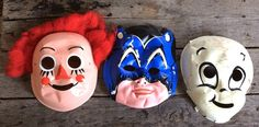 Check out this item in my Etsy shop https://www.etsy.com/listing/465708853/vintage-antique-estate-lot-of-3-mask