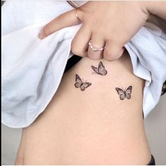 70 Absolutely Beautiful Butterfly Tattoo Designs - The XO Factor - 70 Absolut. - 70 Absolutely Beautiful Butterfly Tattoo Designs – The XO Factor – 70 Absolutely Beautiful B - Mini Tattoos, Dainty Tattoos, Body Art Tattoos, Sleeve Tattoos, Tattoo Arm, Stomach Tattoos, Tattoo On Thigh, Rib Cage Tattoos, Delicate Feminine Tattoos