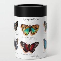 Nymphalidae butterflies Can Cooler