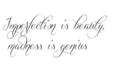 imperfection is beauty tattoo fonts 0ptE10u2