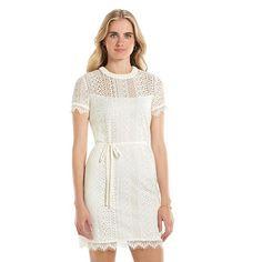 Women's LC Lauren Conrad Lace Shift Dress