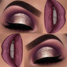 Gorgeous Makeup: Tips and Tricks With Eye Makeup and Eyeshadow – Makeup Design Ideas Blue Eye Makeup, Fall Makeup, Skin Makeup, Eyeshadow Makeup, Eyeshadow Tips, Holiday Makeup, Gorgeous Makeup, Pretty Makeup, Love Makeup