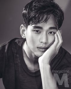 Kim Soo Hyun for Magazine M Most Beautiful Faces, Gorgeous Men, Asian Actors, Korean Actors, Park Bo Gum Moonlight, Jun Matsumoto, Love From Another Star, Hong Ki, Hyun Kim