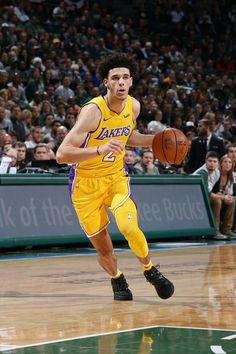 Lonzo Ball is the youngest player in NBA history to ever record a triple-double!